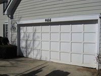 Residential Garage Door (before)